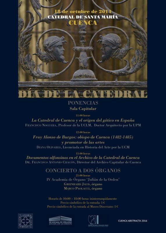 Cartel Día de la Catedral 2014