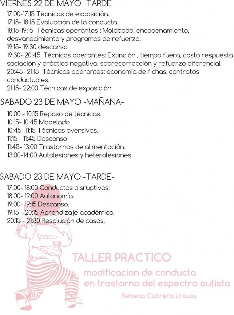 programa taller apacu 2015