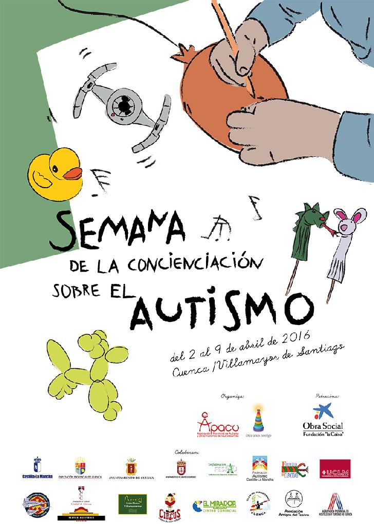 semana_concienciación_autismo_apacu_cuenca