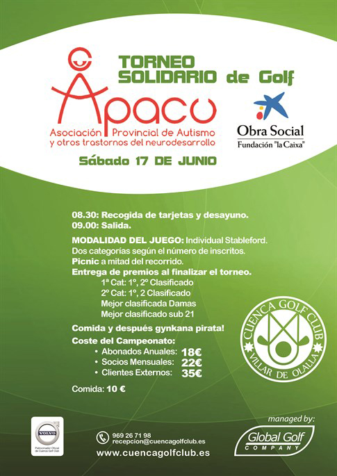 torneo de golf apacu